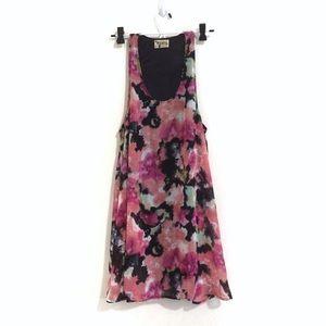 Show Me Your MuMu Dresses - Show Me Your MuMu Watercolor Floral Tank Dress